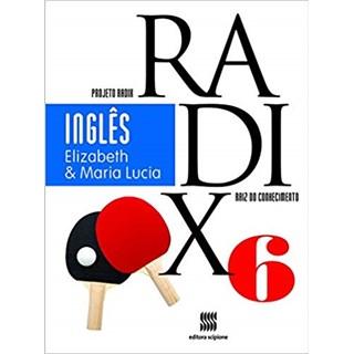 Livro - Projeto Radix Inglês - 6 Ano - Scipione