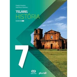 Livro - Projeto Teláris História - 7 Ano - Vicentino