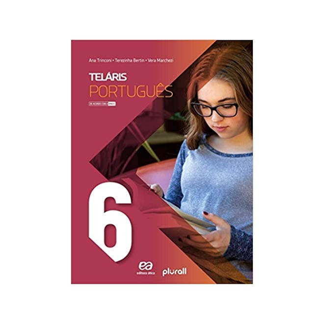 Livro - Projeto Telaris Língua Portuguesa - 6 Ano - Trinconi