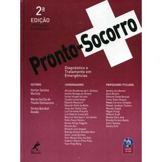 Livro - Pronto-Socorro: Diagnóstico e Tratamento em Emergências - Martins USP