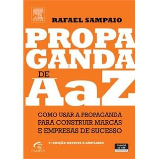 Livro - Propaganda De A A Z - Sampaio
