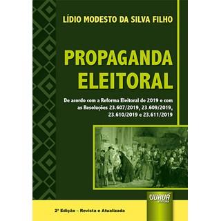Livro - Propaganda Eleitoral - Filho - Juruá