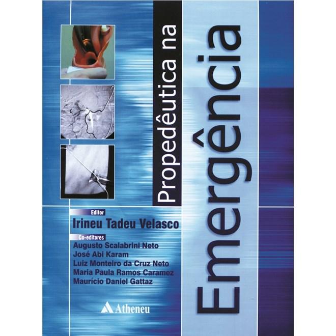 Livro - Propedêutica na Emergência - Velasco