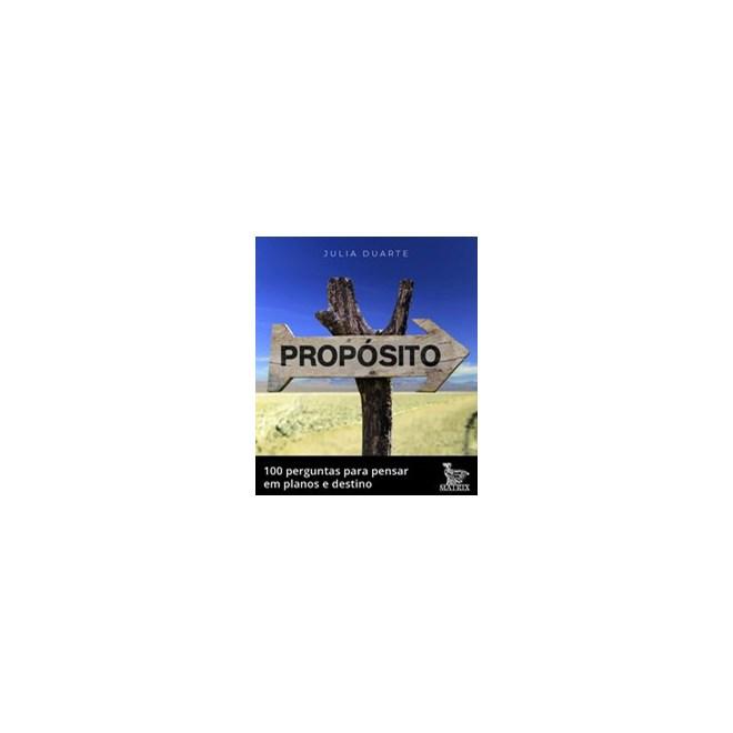 Livro - Propósito - Duarte 1º edição