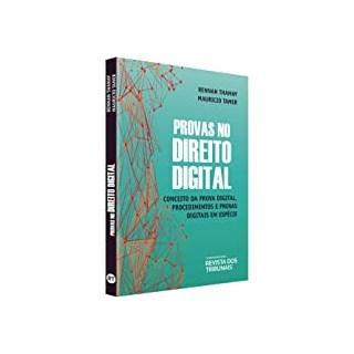 Livro - Provas no Direito Digital - Tamer - Revista dos Tribunais