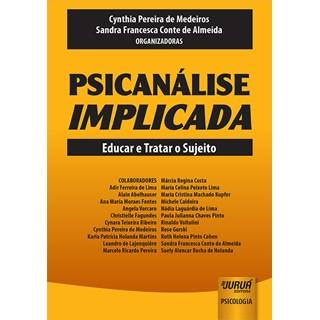 Livro - Psicanálise Implicada - Almeida - Juruá