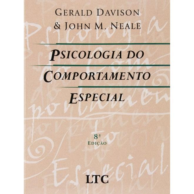 20028ff7d Livro - Psicologia Do Comportamento Especial - Davison - Livraria ...