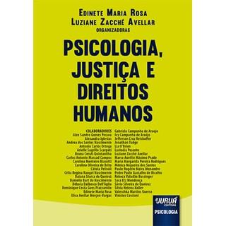 Livro - Psicologia, Justiça e Direitos Humanos - Rosa - Juruá