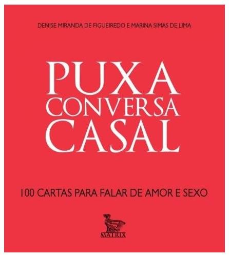 Livro - Puxa Conversa Casal - Tadeu - Baralho