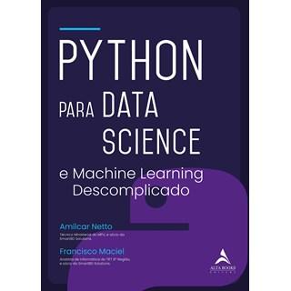 Livro Python Para Data Science - Maciel - Alta Books