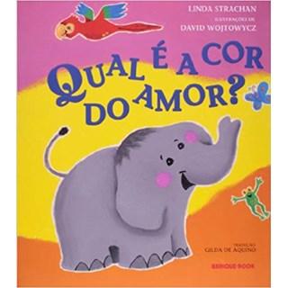 Livro - Qual É a Cor do Amor? - Strachan