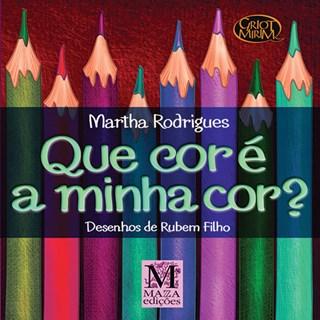 Livro - Que Cor É a Minha Cor - Rodrigues