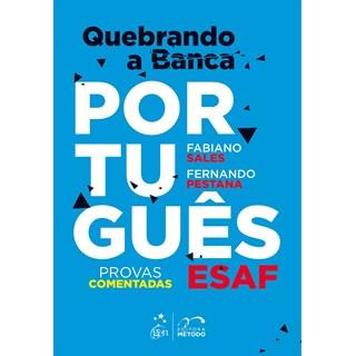 Livro - Quebrando a banca - Português - Esaf