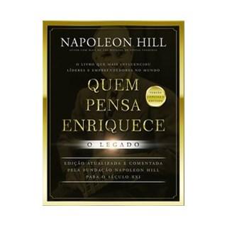 Livro - Quem pensa enriquece - Hill 1º edição