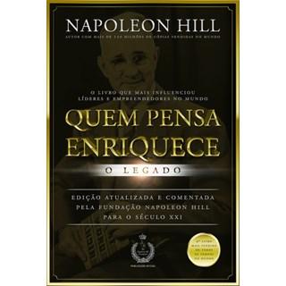 Livro - Quem Pensa Enriquece - Napoleon Hill