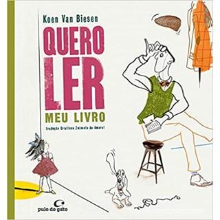 Livro - Quero Ler Meu Livro - Biesen - Pulo do Gato