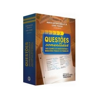 Livro - Questões Comentadas dos Exames de Magistratura e Ministério Público do Trabalho - Araujo Jr.
