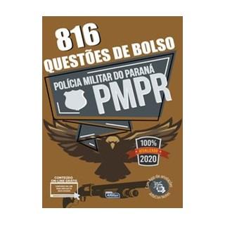 Livro - Questões de Bolso - Polícia Militar do Paraná - PM PR - Equipe Alfacon 1º edição