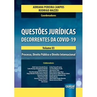Livro Questões Jurídicas Decorrentes do Covid-19 - Campos - Juruá