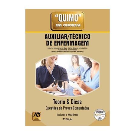Livro - Quimo Auxiliar/Técnico de Enfermagem - Lyra