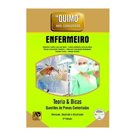 Livro - Quimo - Enfermeiro - 2ª Edição - DVD-Rom