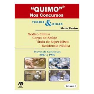 Livro - Quimo - Nos Concursos - 3 Volumes - Castro