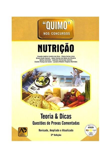 Livro - Quimo - Nutrição - Teoria e Dicas Questões de Provas Comentadas - Hassan 2ª edição