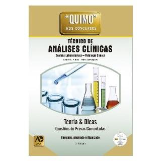 Livro - Quimo Técnico de Análises Clínicas - Questões e Provas Comentadas- Reis