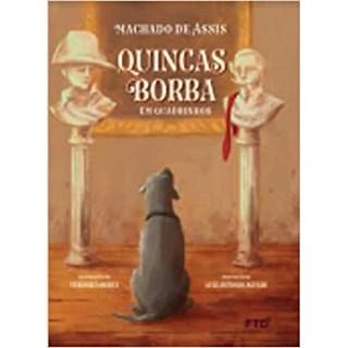 Livro Quincas Borba - Machado de Assis - FTD