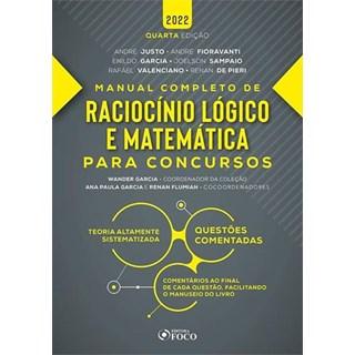 Livro Raciocínio Lógico e Matemática para Concursos - Foco