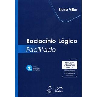 Livro - Raciocínio Lógico Facilitado - Vilar