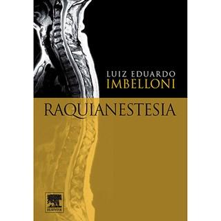 Livro - Raquianestesia - Imbelloni
