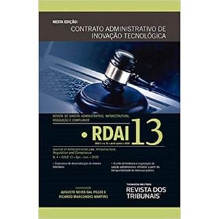 Livro - RDAI: Revista de Direito Administrativo, Infraestrutura - Martins - Revista dos Tribunais