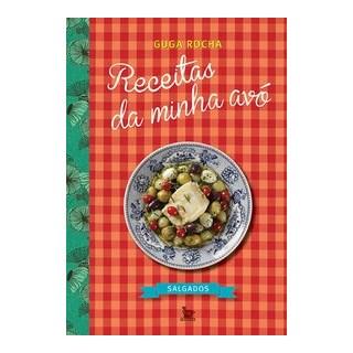 Livro - Receitas da minha avó - Rocha 1º edição