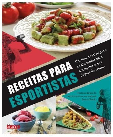 Livro - Receitas para Esportistas - Pavão