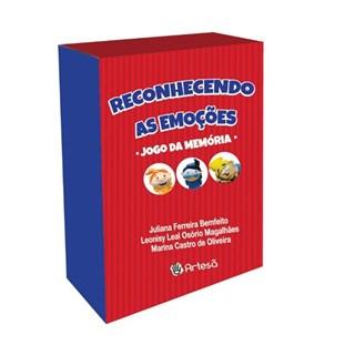 Livro - Reconhecendo as Emoções - Jogo da Memória - Bemfeito