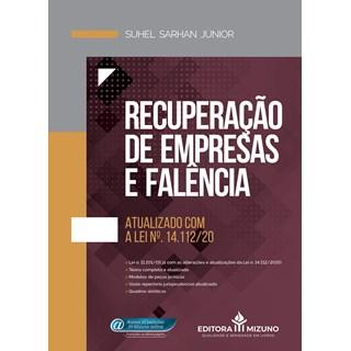 Livro Recuperação de Empresas e Falência - Junior - Jh Mizuno