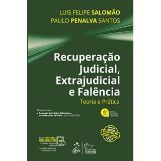 Livro Recuperação Judicial, Extrajudicial e Falência - Salomão - Forense