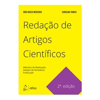 Livro Redação de Artigos Científicos - Tomasi - Atlas