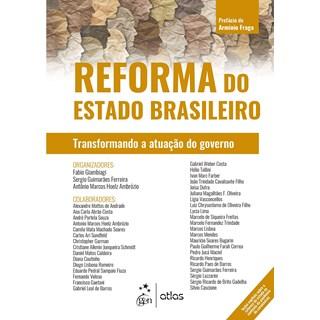 Livro Reforma do Estado Brasileiro - Giambiagi - Atlas