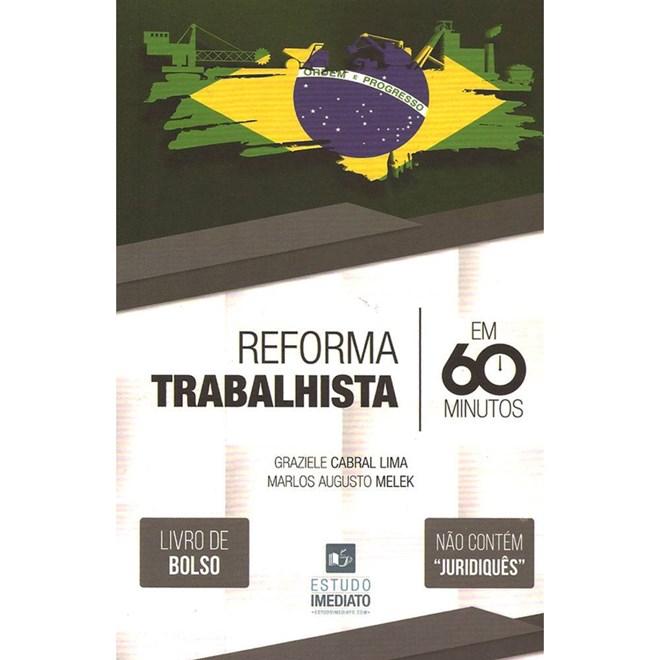 Livro - Reforma Trabalhista em 60 Minutos - Livro de Bolso - Lima