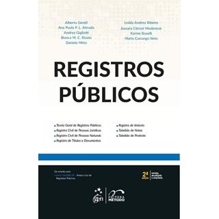 Livro - Registros Públicos - Gentil