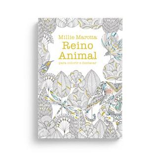 Livro - Reino Animal Para Colorir e Destacar - Marotta - Sextante