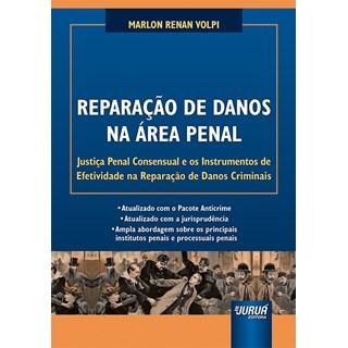 Livro Reparação de Danos na Área Penal - Volpi - Juruá