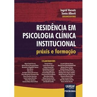 Livro - Residência em Psicologia Clínica Institucional - Alberti - Juruá