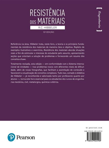 Livro - Resistência dos Materiais - Hibbeler