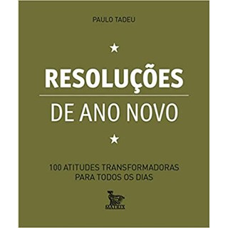 Livro - Resoluções de Ano Novo - Tadeu - Baralho
