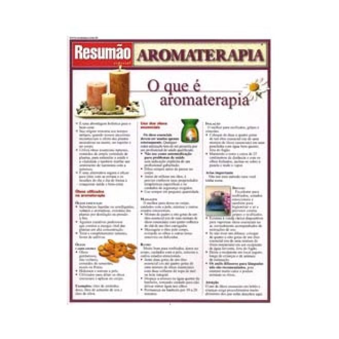 Livro - Resumão Aromaterapia - Power