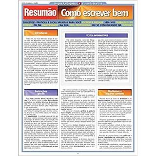 Livro - Resumão - Como Escrever Bem - Martins