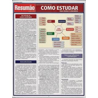 Livro - Resumão Como Estudar para Provas e Concursos - Fernandes